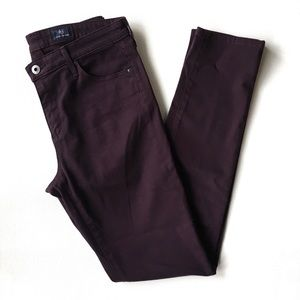 AG mid rise cigarette skinny Size 28